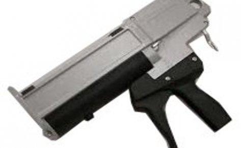 Mixpac DM400-01 Manual Adhesive Dispenser, 400ml, 1:1 and 2:1 mix ratios