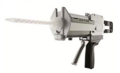 2 Ea. Mixpac DM400-01 Manual Adhesive Dispenser, 400ml, 1:1 and 2:1 mix ratios